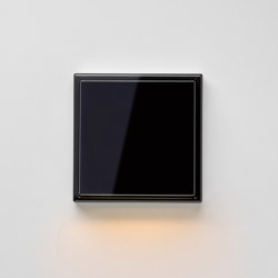 Plug & Light | LS 990 LED-Wall luminaire black | Wall lights | JUNG