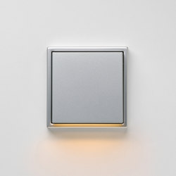 Plug & Light | LS 990 LED-Wall luminaire aluminium | Wall lights | JUNG