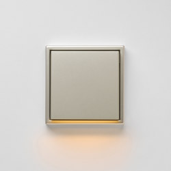 Plug & Light | LS 990 LED-Wall luminaire stainless steel | Wall lights | JUNG