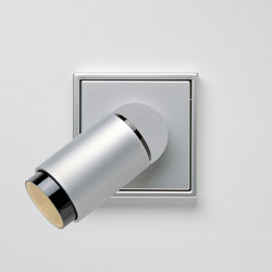 Plug & Light | LS 990 LED Spotlight aluminium | Wall lights | JUNG