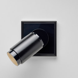 Plug & Light | LS 990 LED Spotlight black | Wall lights | JUNG