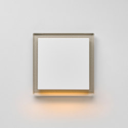Plug & Light | A creation LED-Wall luminaire champagne glass | Wall lights | JUNG
