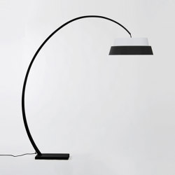 Nuala floor Lamp - Black | Free-standing lights | Objekto