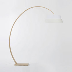Nuala floor Lamp - Natural | Free-standing lights | Objekto