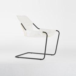 Paulistano Canvas - Black/Ecru | Armchairs | Objekto