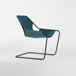 Paulistano Canvas - Black/Turquoise | Armchairs | Objekto