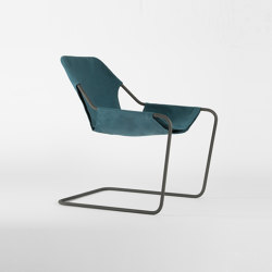 Paulistano Canvas - Phosphated/Turquoise | Armchairs | Objekto