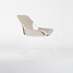 Paulistano Canvas - White/Beige | Armchairs | Objekto