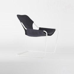 Paulistano Canvas - White/BlueGrey | Armchairs | Objekto