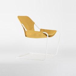 Paulistano Canvas - White/Gold | Armchairs | Objekto