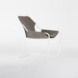 Paulistano Canvas - White/OliveGrey | Armchairs | Objekto