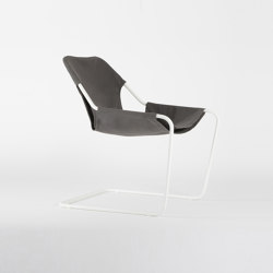 Paulistano Canvas - White/TaupeGrey | Armchairs | Objekto