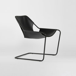 Paulistano Leather - Black/Black | Sillones | Objekto