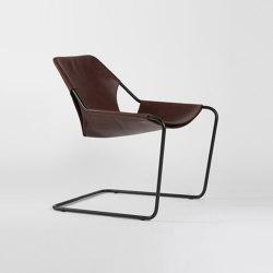 Paulistano Leather - Black/Cognac | Armchairs | Objekto
