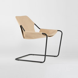 Paulistano Leather - Black/VVN | Armchairs | Objekto