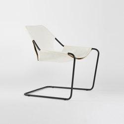 Paulistano Leather - Black/White | Armchairs | Objekto