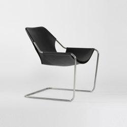 Paulistano Leather - Inox/Black | Armchairs | Objekto