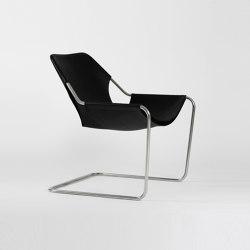 Paulistano Leather - Inox/BlackMatt | Armchairs | Objekto