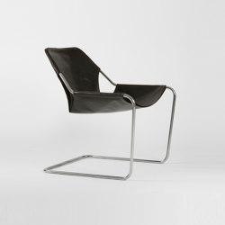 Paulistano Leather - Inox/Macassar | Armchairs | Objekto