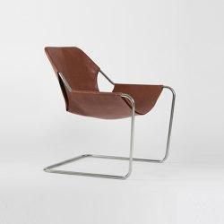 Paulistano Leather - Inox/Terracotta | Armchairs | Objekto