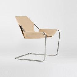 Paulistano Leather - Inox/VVN | Armchairs | Objekto