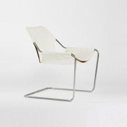 Paulistano Leather - Inox/White | Armchairs | Objekto