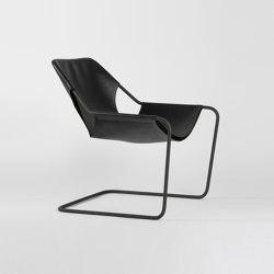 Paulistano Leather - Phosphated/Black | Armchairs | Objekto