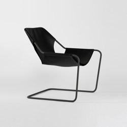 Paulistano Leather - Phosphated/BlackMatt | Armchairs | Objekto