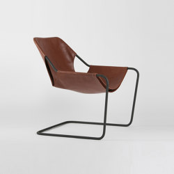 Paulistano Leather - Phosphated/Terracotta | Armchairs | Objekto