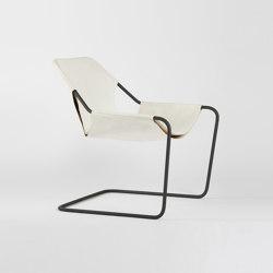 Paulistano Leather - Phosphated/White | Armchairs | Objekto