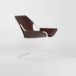 Paulistano Leather - White/Cognac | Armchairs | Objekto