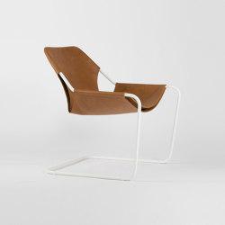 Paulistano Leather - White/Whisky | Armchairs | Objekto
