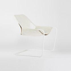 Paulistano Leather - White/White | Armchairs | Objekto