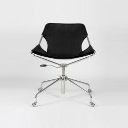 Paulistano OC - Inox/BlackMatt | Chairs | Objekto