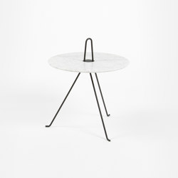 Tipi - 37cm/Marble | Side tables | Objekto