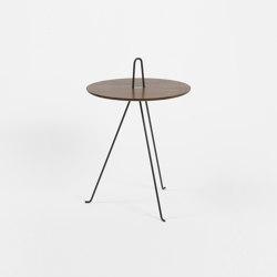 Tipi - 52cm/Walnut | Side tables | Objekto