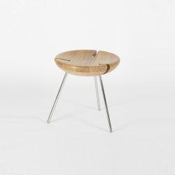 Tribo - 40cm/Inox | Stools | Objekto