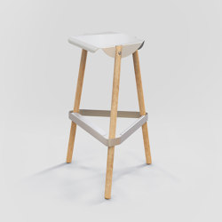 Note Bar Stool | Bar stools | Hyfen