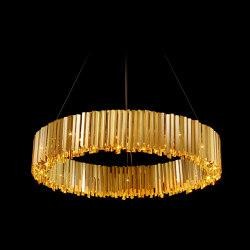 Facet Chandelier | Lampade sospensione | Tom Kirk Lighting