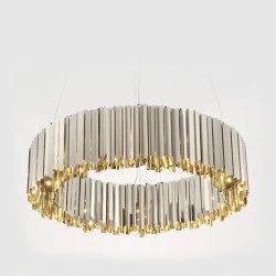 Facet Chandelier | Suspended lights | Tom Kirk Lighting