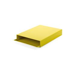 Stapler | File Tray Stack, sulfur yellow RAL 1016 | Desk tidies | Magazin®