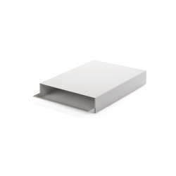 Stapler | File Tray Stack, signal white RAL 9003 | Desk tidies | Magazin®