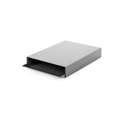 Stapler | File Tray Stack, dusty grey RAL 7037 | Desk tidies | Magazin®