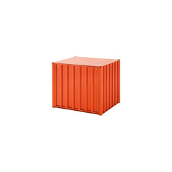 DS Container | Small, red orange RAL 2001 | Storage boxes | Magazin®