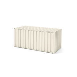 Container DS, pearl white RAL 1013 | Sideboards | Magazin®