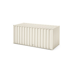DS Container | pearl white RAL 1013, with lock | Credenze | Magazin®
