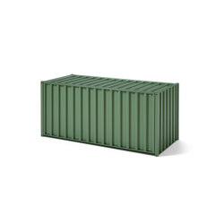 Container DS, reseda green RAL 6011 | Sideboards | Magazin®