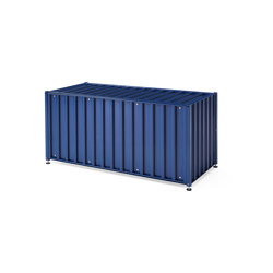 Container DS, saphire blue RAL 5003 | Sideboards | Magazin®