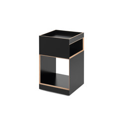 Container Henry 1, black | Estantería | Magazin®