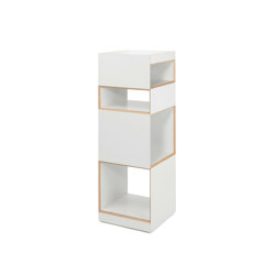 Container Henry 2, white | Shelving | Magazin®